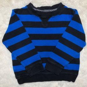 Wonderkids Striped Sweatshirt Long Sleeved Size 3T